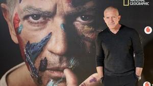 Antonio Banderas, en la presentación en Madrid de la serie de National Geographic Channel sobre Pablo Picasso.
