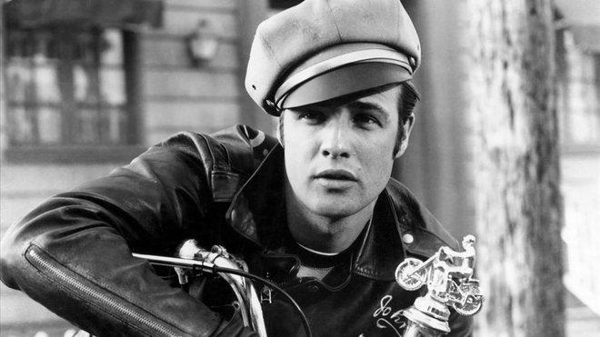 Marlon Brando lucía una 'biker' en la película 'Salvaje' (1953).