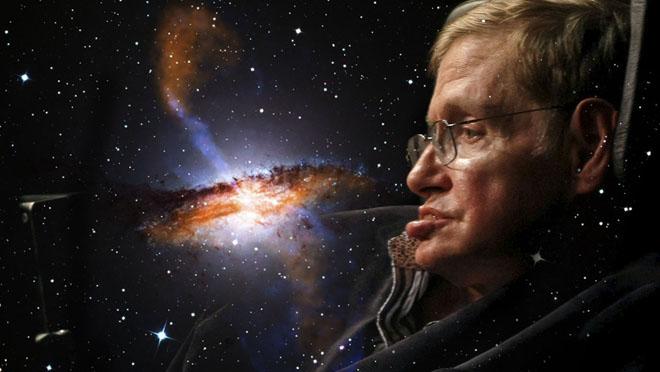 El genio de los agujeros negros, Stephen Hawking.