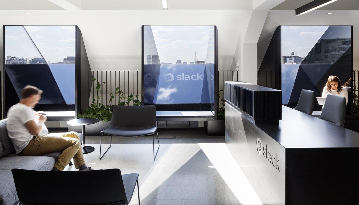 Oficina de Slack.