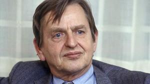 Olof Palme, en 1984, dos años antes de ser asesinado en Estocolmo.