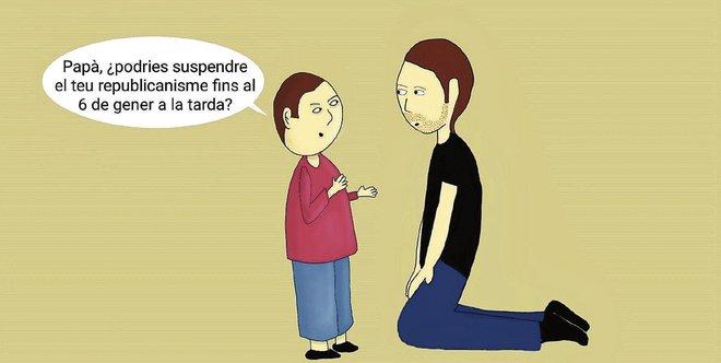 L'humor gràfic de Juan Carlos Ortega del 19 de Desembre del 2018