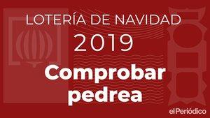 Consulta la llista dels premis menors i comprova els números de la Loteria de Nadal a EL PERIÓDICO