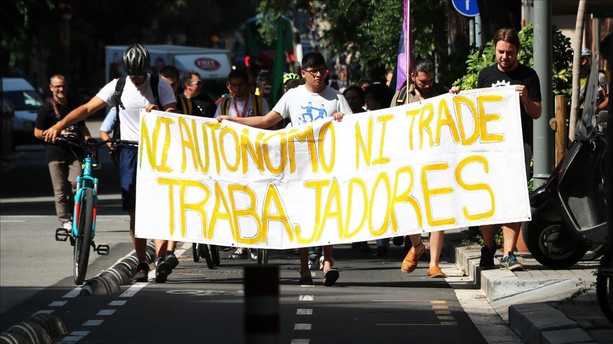 Repartidores de Glovo denuncian su modelo laboral ante Inspección de Trabajo