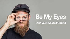 Presentación de la app Be My Eyes.