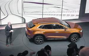 Presentación en Ginebra del prototipo 20V20, en el que se basará el futuro SUV grande de la marca.