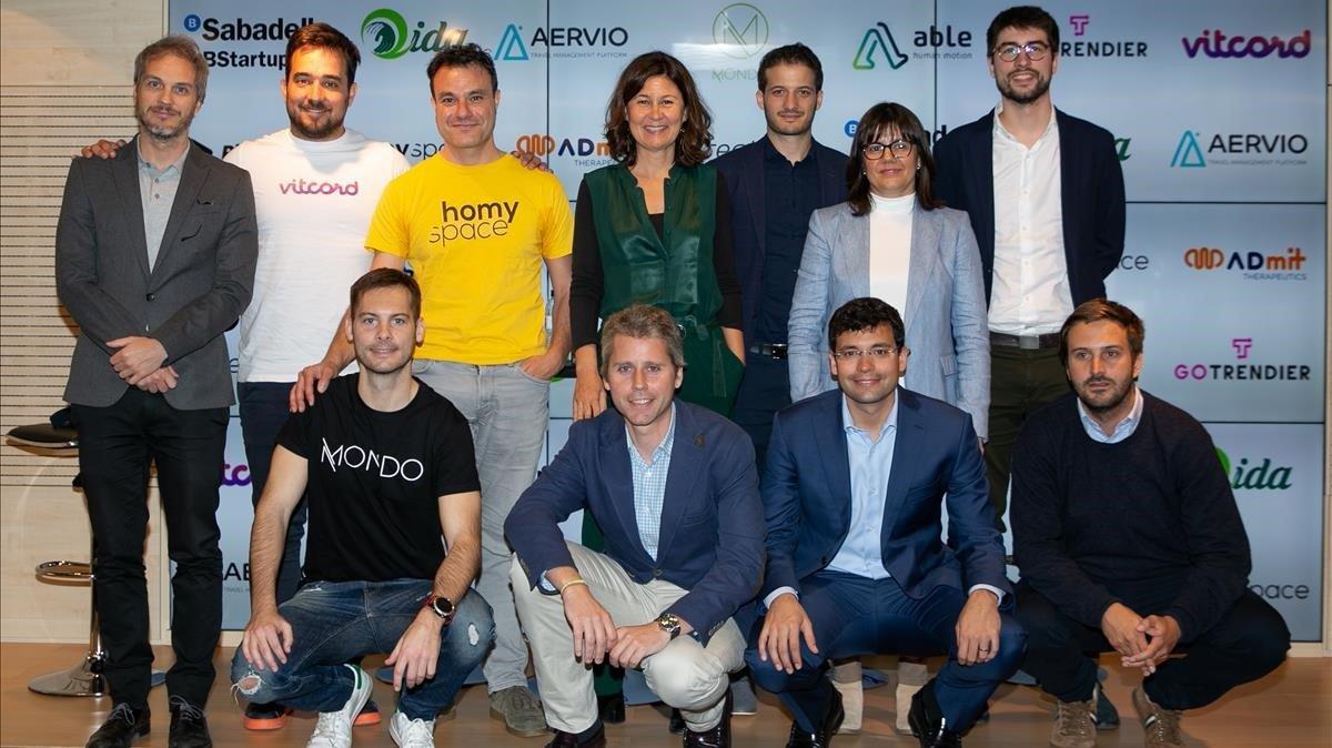 Presentación de start-ups seleccionadas por BStartup.