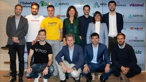 Presentación de 'start-ups' seleccionadas por BStartup.