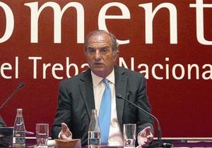 El president de Foment del Treball, Gay de Montellà.