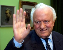 El presidente georgiano Eduard Shevarnadze, en una imagen del 2003.
