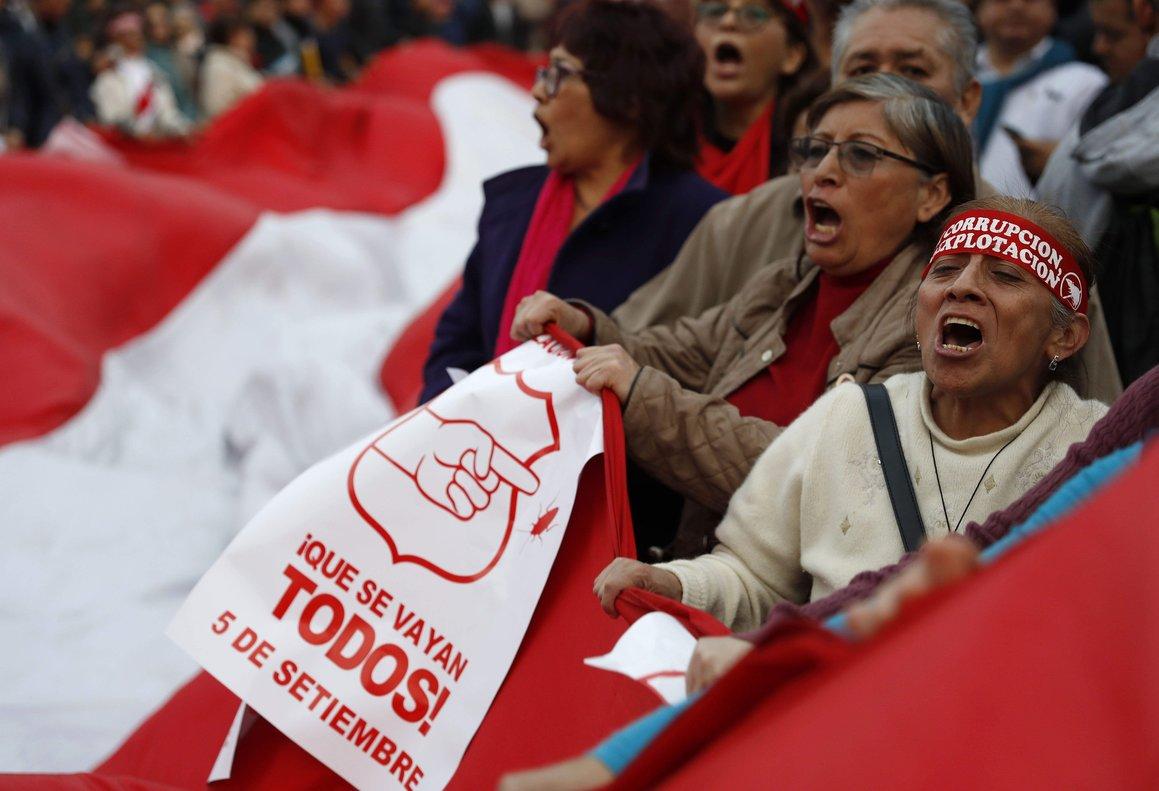 La movilización había sido convocada por organizaciones sociales y colectivos civiles.