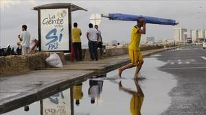 Publicidad cara al plebiscito en Cartagena.