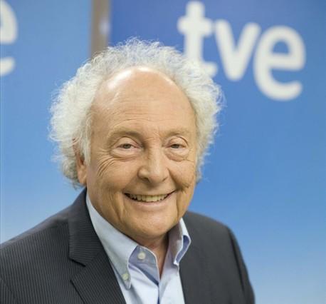 El divulgador científic Eduard Punset, al plató de Redes.