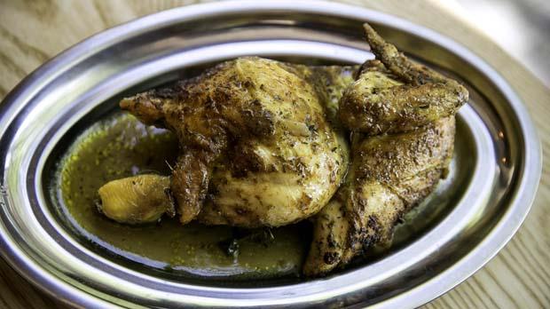 Restaurant A Pluma: recepta de pollastre a l'ast