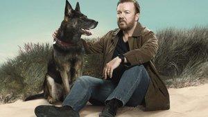 Ricky Gervais, en la serie 'After life'.
