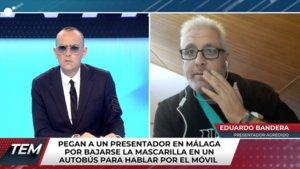 Risto Mejide hablando con Eduardo Bandera en 'Todo es mentira'.