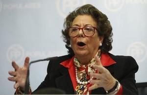 Las juezas del 'caso Nóos' impiden a Rita Barberá declarar por videoconferencia