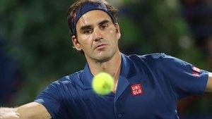 Roger Federer, en Dubái.