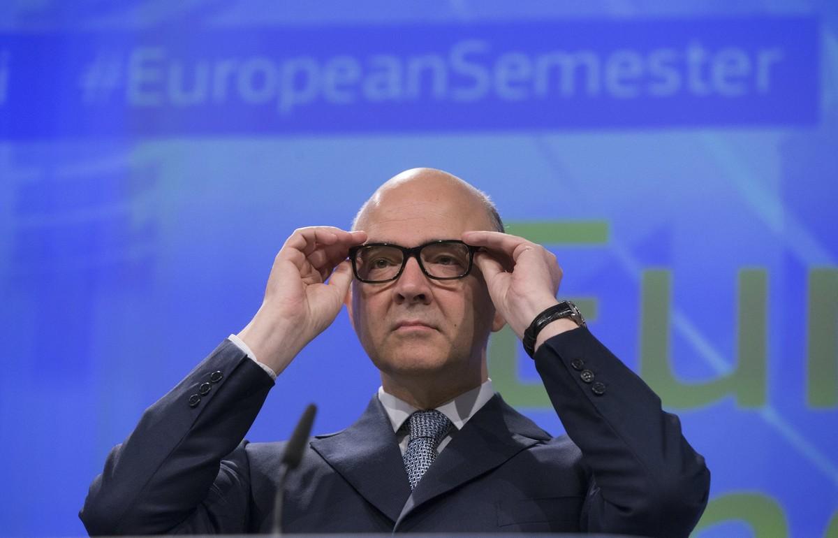 El comisario europeo de Asuntos Económicos de la Unión Europea (UE), Pierre Moscovici.
