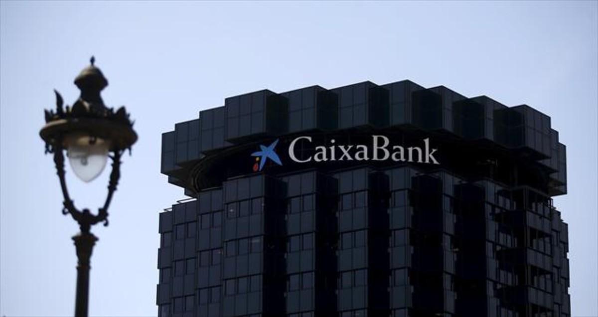 La sede central de CaixaBank, en la avenida Diagonal de Barcelona.