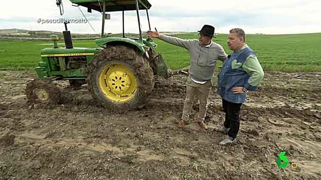 El tractor va millor amb vi que amb gasoil