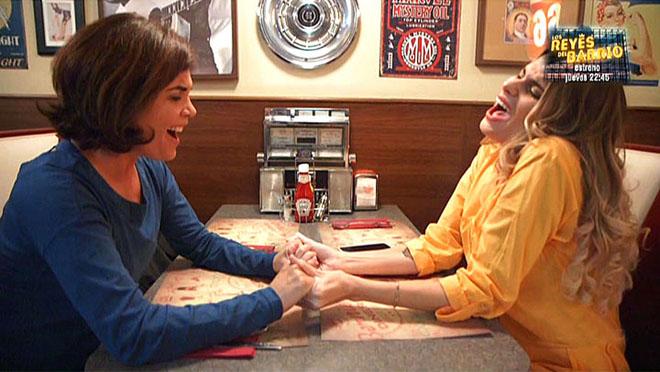 Samanta Villar y María Lapiedra (Cuatro).