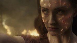Sophie Turner, en un fotograma de X-Men: Fénix Oscura