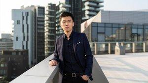 Steven Zhang, en una foto promocional para anunciar su ascenso a la presidencia del Inter.