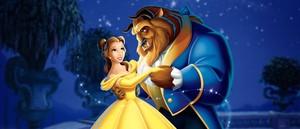 Una escena de la película animada La Bella y la Bestia, de 1991.