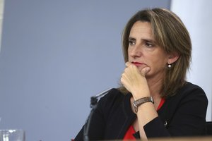 Teresa Ribera, ministra para la Transición Ecológica.