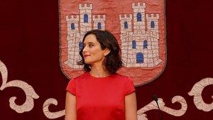 Toma de posesión de Isabel Díaz Ayuso de la Comunidad de Madrid.