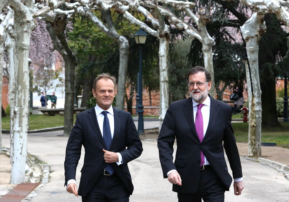 Tusk, sobre l'1-O: «El meu primer consell a Rajoy va ser que no utilitzés la força contra la gent»