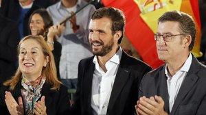 Escomesa global de Casado contra Sánchez