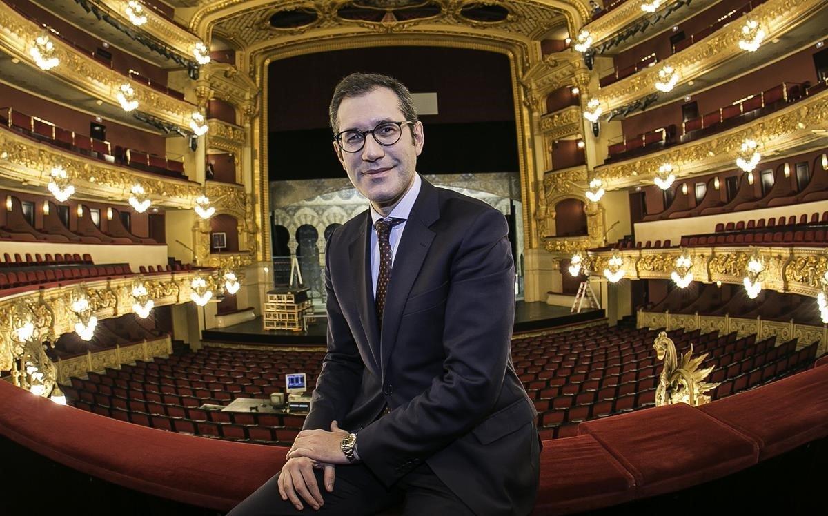 Valentí Oviedo, director general del Liceu.