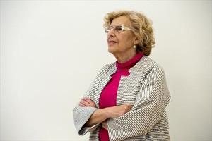 Vilipendiada y amenazada 8La alcaldesa de Madrid, Manuela Carmena, el 19 de mayo del 2016.