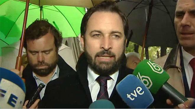 Vox presenta hoy una querella contra Rajoy por no paralizar el 9-N