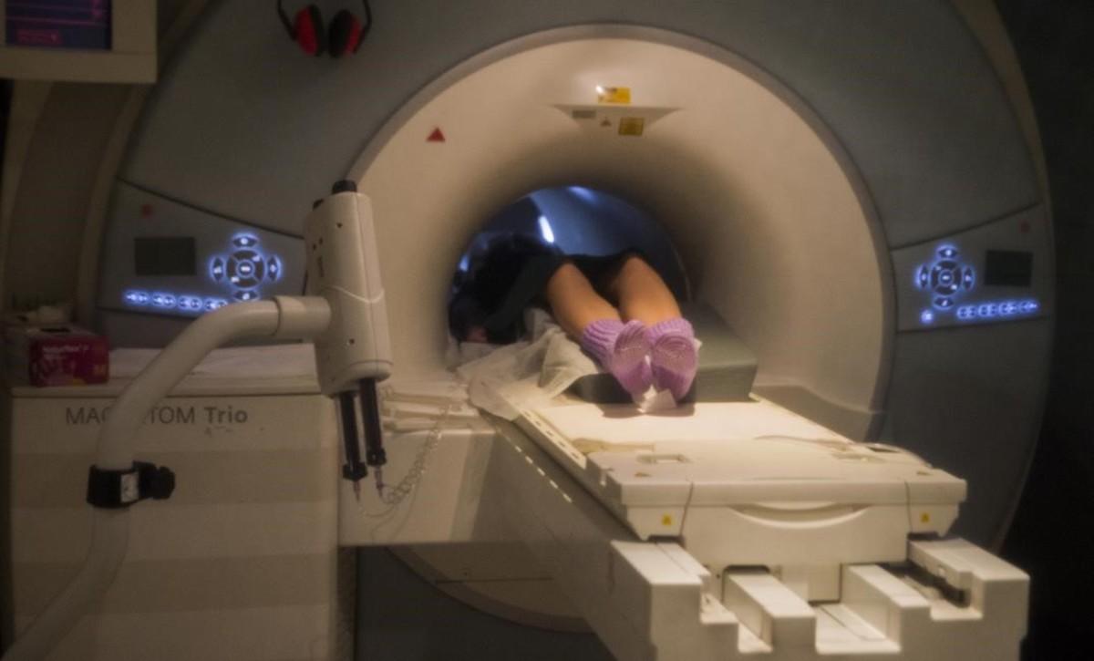 Aparato de resonancia magnética del Hospital del Vall d'Hebron.