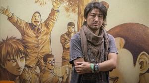 Masasumi Kakizaki, en el Salón del Manga.
