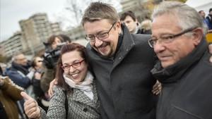 Domènech busca atraure el vot del milió d'indecisos del 21-D