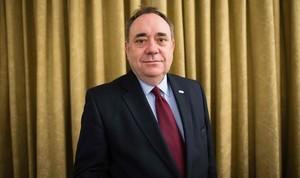 L'exprimer ministre escocès Alex Salmond, denunciat per agressió sexual