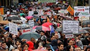 La manifestación deLa Revuelta de la Espana Vaciada pretende convertir esta marcha en histórica. Es la primera vez que 90 colectivos de 23 provincias se unen para frenar la despoblación.