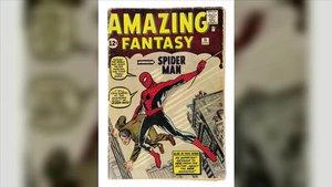 ¿Arribarà el primer còmic de Spider-Man als 500.000 euros en subhasta?