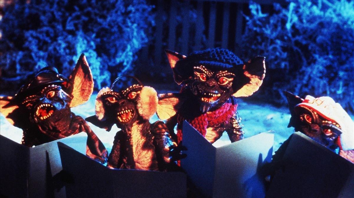 Una imagen de 'Gremlins'.