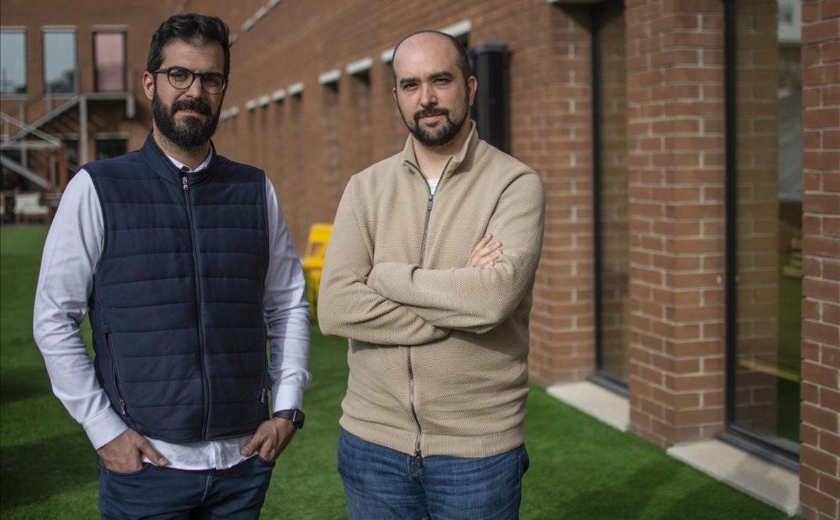 Juan Zamora y Javier Martinez, cofundadores de Signaturit