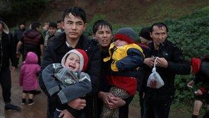 Grècia traslladarà al nord els migrants arribats a Lesbos des de l'1 de març