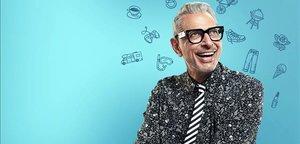 Una imagen de la serie 'El mundo según Jeff Goldblum'.