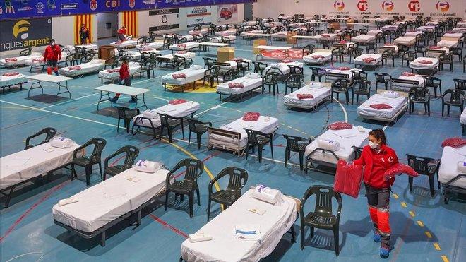Coronavirus: mapa dels hospitals de campanya de Catalunya