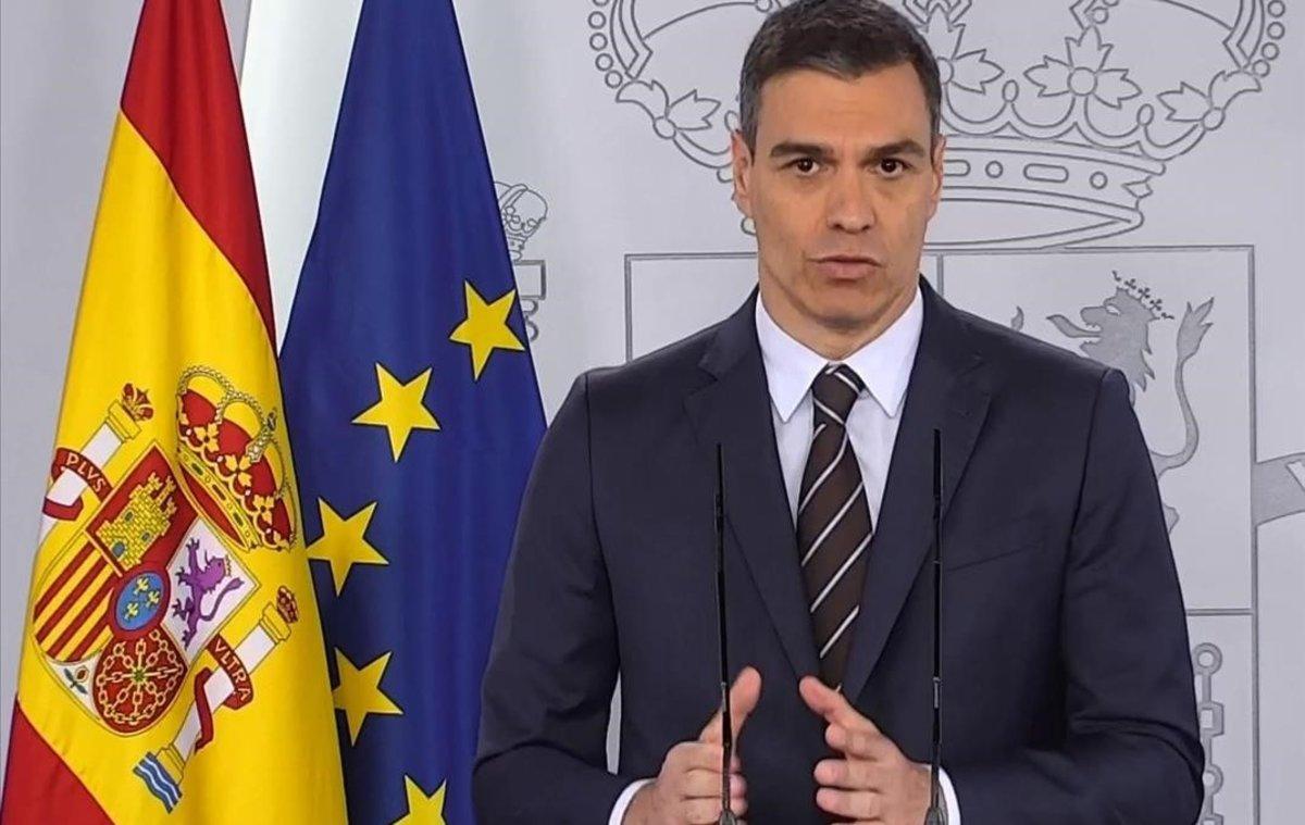Sánchez anuncia que l'ingrés mínim vital arribarà a 850.000 llars