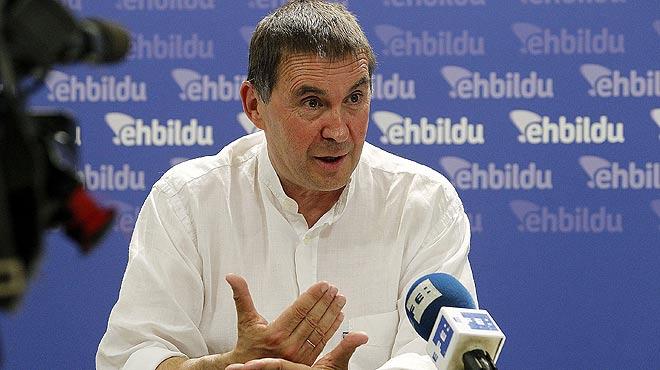 La Junta Electoral declara inelegible Arnaldo Otegi