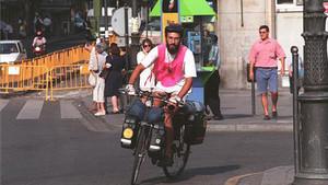 Seguridad madrid ciclista